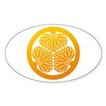mitsuba-aoi Sticker (Oval 50 pk)