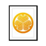 mitsuba-aoi Framed Panel Print