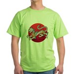 byakko1 Green T-Shirt