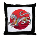 byakko1 Throw Pillow