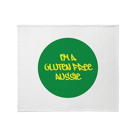 Gluten Free Aussie Throw Blanket