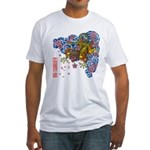 nue cherry Fitted T-Shirt