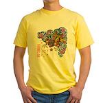 nue cherry Yellow T-Shirt