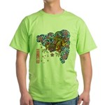 nue cherry Green T-Shirt