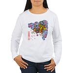 nue cherry Women's Long Sleeve T-Shirt