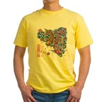 carp cherry Yellow T-Shirt