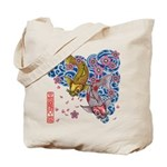carp cherry Tote Bag