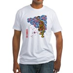 tiger cherry Fitted T-Shirt