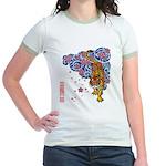 tiger cherry Jr. Ringer T-Shirt