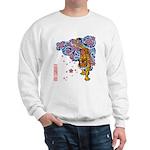 tiger cherry Sweatshirt