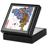 tiger cherry Keepsake Box