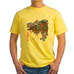 kuuma tattoo 1 Yellow T-Shirt