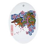 kuuma tattoo 1 Ornament (Oval)