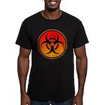 danger Men's Fitted T-Shirt (dark)