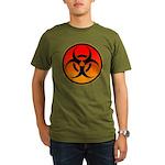danger Organic Men's T-Shirt (dark)