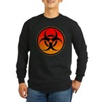 danger Long Sleeve Dark T-Shirt