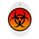danger Ornament (Oval)