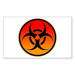 danger Sticker (Rectangle 10 pk)