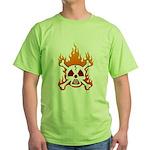 NO NUKES! Green T-Shirt
