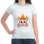 NO NUKES! Jr. Ringer T-Shirt