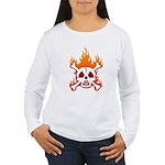 NO NUKES! Women's Long Sleeve T-Shirt