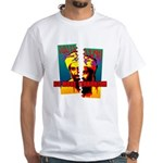 NO MORE TERRORISM White T-Shirt