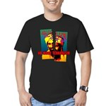 NO MORE TERRORISM Men's Fitted T-Shirt (dark)