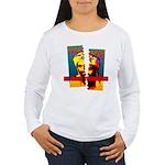 NO MORE TERRORISM Women's Long Sleeve T-Shirt