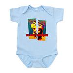 NO MORE TERRORISM Infant Bodysuit