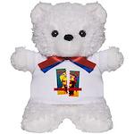 NO MORE TERRORISM Teddy Bear