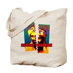 NO MORE TERRORISM Tote Bag
