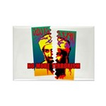 NO MORE TERRORISM Rectangle Magnet (100 pack)