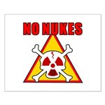 NO NUKES Small Poster