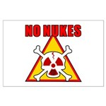 NO NUKES Large Poster
