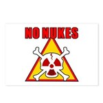 NO NUKES Postcards (Package of 8)