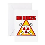 NO NUKES Greeting Cards (Pk of 10)