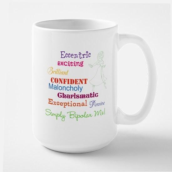 Simply Bipolar Me Large Mug