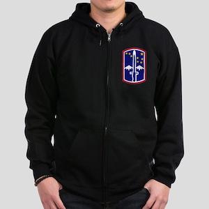 1714th Infantry Brigade174th Zip Hoodie (dark)