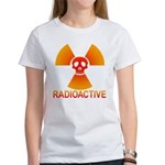 radioactive skull Women's T-Shirt