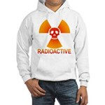 radioactive skull Hooded Sweatshirt