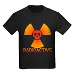 radioactive skull Kids Dark T-Shirt