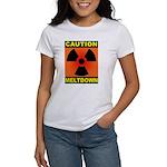 caution meltdown Women's T-Shirt