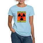 caution meltdown Women's Light T-Shirt