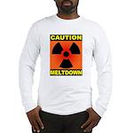caution meltdown Long Sleeve T-Shirt