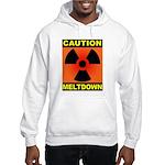 caution meltdown Hooded Sweatshirt