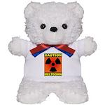 caution meltdown Teddy Bear