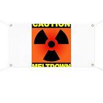 caution meltdown Banner
