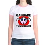 GANBARE TOMODACHI Jr. Ringer T-Shirt