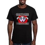 GANBARE TOMODACHI Men's Fitted T-Shirt (dark)