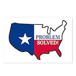 Problem Solved Flag Postcards (Package of 8)